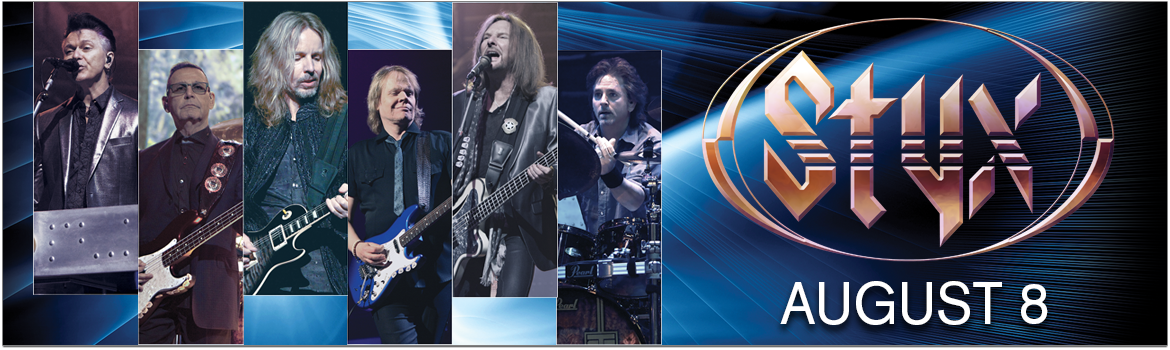 Styx Live At Sound Board Detroit Thursday August 08 2019 8 00 Pm